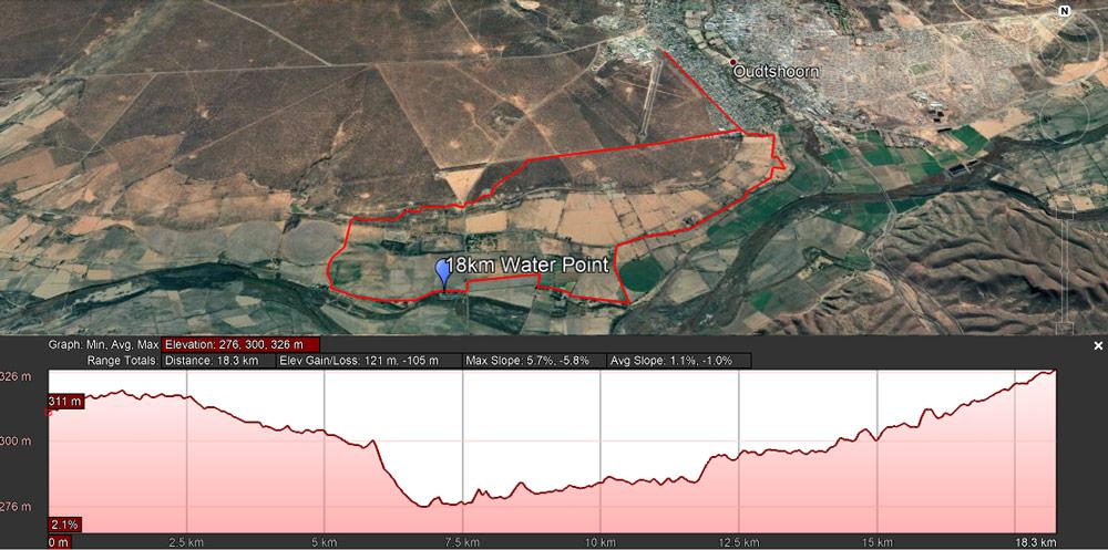 18km MTB Leopard Crawl