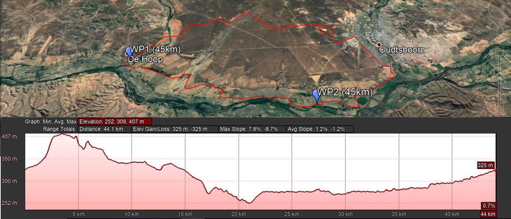 45km MTB Leopard Crawl
